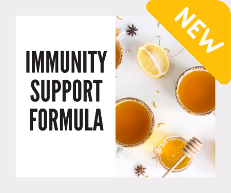 The Immunity Support Formula can be added to your custom vitamins based on your DNA from Athletigen and VitaminLab